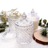 Crystal Candle Jar